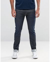 Replay | Blue Jeans Hyperflex Jondrill Skinny Comfort Ultra Stretch Rinse Wash for Men | Lyst