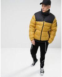 7f49991f0f Lyst - The North Face Black Label 1992 Nuptse Jacket Yellow Men s ...