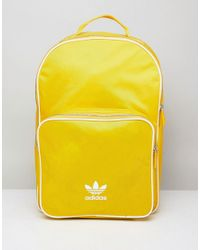 5b4c60f9195 adidas Originals Adicolor Backpack In Yellow Cw0634 in Yellow for ...