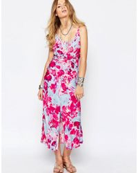 9070cd4ac4 Somedays Lovin. Women's Lovin Bright Floral Maxi Dress