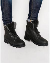 Wrangler - Black Aviator Boots for Men - Lyst