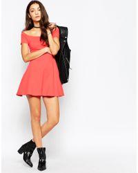Motel - Red Catalina Dress - Lyst
