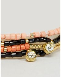 Pieces   Metallic Barca Multipack Bracelets   Lyst