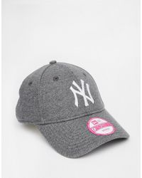 KTZ - Gray 9forty Jersey New York Yankees Cap - Lyst