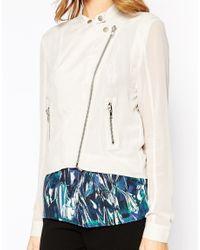 Y.A.S - Blue Blast Soft Jacket - Lyst