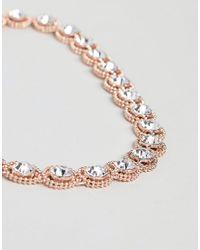 Coast - Metallic Zuri Crystal Necklace - Lyst
