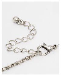 ASOS | Metallic Rope Necklace for Men | Lyst
