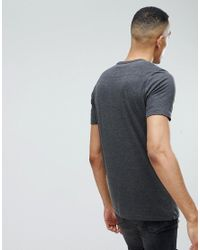 French Connection - Gray Tall 2 Pack Pocket T-shirt for Men - Lyst