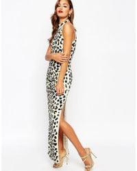 ASOS | Multicolor Red Carpet Leopard Sequin Embellished Maxi Dress | Lyst