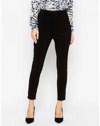ASOS | Red Skinny Crop Pants | Lyst