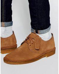 Clarks - Brown Desert London Shoes for Men - Lyst