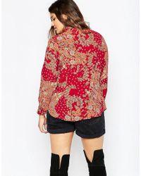 ASOS   Multicolor Curve 70's Slim Fit Shirt In Retro Daisy Print   Lyst