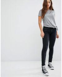 G-Star RAW - Blue G Star Be Raw Ultra High Ripped Skinny With Released Hem - Lyst