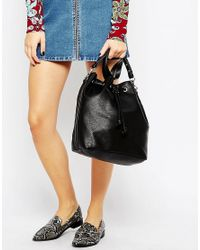 Fiorelli - Black Rossini Drawstring Backpack - Lyst