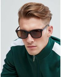 Quay - Brown Kingsley Square Frame Sunglasses - Lyst