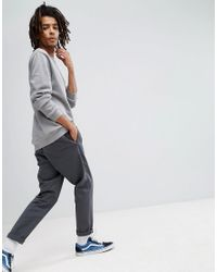 ASOS - Gray Longline Sweatshirt In Grey for Men - Lyst