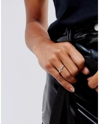 Kingsley Ryan - Metallic Sterling Silver Promise Ring - Lyst
