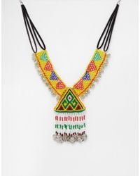 ASOS | Multicolor All Night Carnival Necklace | Lyst