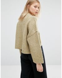 Native Youth - Multicolor High Neck Boxy Sweater - Lyst