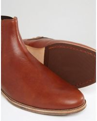 Bobbies - Brown L'horloger Leather Chelsea Boots for Men - Lyst