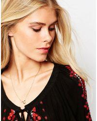 Gorjana - Metallic Horseshoe Necklace - Gold - Lyst