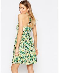 Sugarhill - Green Ugarhill Boutique Toucan Tropical Print Sundress - Lyst