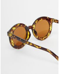 ToyShades - Brown Polo Round Sunglasses - Lyst