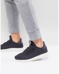 Adidas Originals - Gray X Pharrell Williams Tennis Hu Trainers In Grey Cq2162 for Men - Lyst