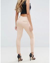 ASOS - Multicolor High Waist Trousers In Skinny Fit - Lyst
