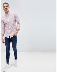 Jack & Jones - Pink Premium Oxford Shirt for Men - Lyst