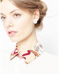 ASOS - Multicolor Pack Of 3 Pretty Flower Earrings - Lyst