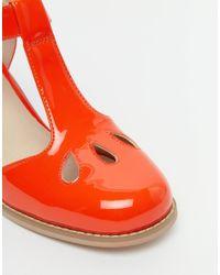ASOS - Orange Octavia Heels - Lyst