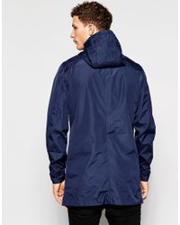 Only & Sons - Blue Nly & Sons Parka for Men - Lyst