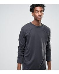 Cheap Monday - Black Yard Long Sleeve T-shirt Used Wash for Men - Lyst