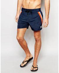 26b1bd3dbd Speedo Retro Leisure 14 Inch Swim Shorts in Blue for Men - Lyst