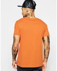 ASOS - Multicolor T-shirt With Crew Neck In Orange for Men - Lyst