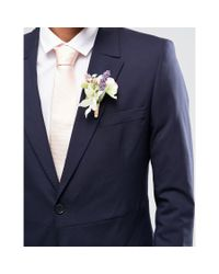 SELECTED - Black Elected Homme Skinny Morning Wedding Suit Jacket With Stretch for Men - Lyst