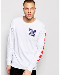 incredible prices buy best purchase cheap Lyst - Deus Ex Machina Long Sleeve T-shirt With Surf Back ...