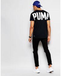 PUMA - Natural Evolution T-shirt With Back Print for Men - Lyst