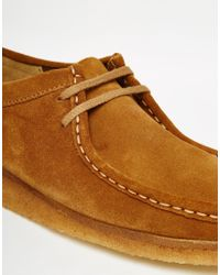 Clarks - Clarks Original Wallabee Suede Shoes - Brown for Men - Lyst