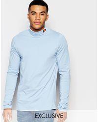 Ellesse - Blue L.s Long Sleeve Top for Men - Lyst