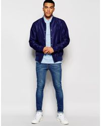 Ellesse - Blue L.s Polo Shirt for Men - Lyst