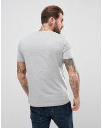 Original Penguin - Gray Small Logo T-shirt Slim Fit In Grey Marl for Men - Lyst