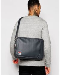 Fila - Gray Vintage Shoulder Bag for Men - Lyst