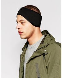 ASOS | Neoprene Head Band In Black for Men | Lyst