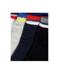 Jack & Jones - Multicolor Sneaker Socks 4 Pack for Men - Lyst