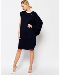 Adidas Originals - Blue Originals By Hyke Oversized Angle Dress - Lyst