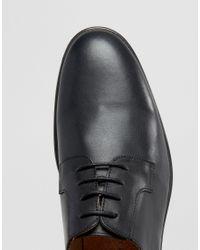 SELECTED Black Oliver Derby Shoes for men