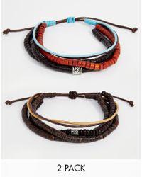 Classics 77   Black Beaded Bracelet Pack for Men   Lyst