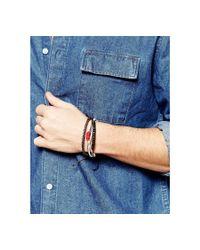 Classics 77 - Brown Teepee Bracelet Pack for Men - Lyst